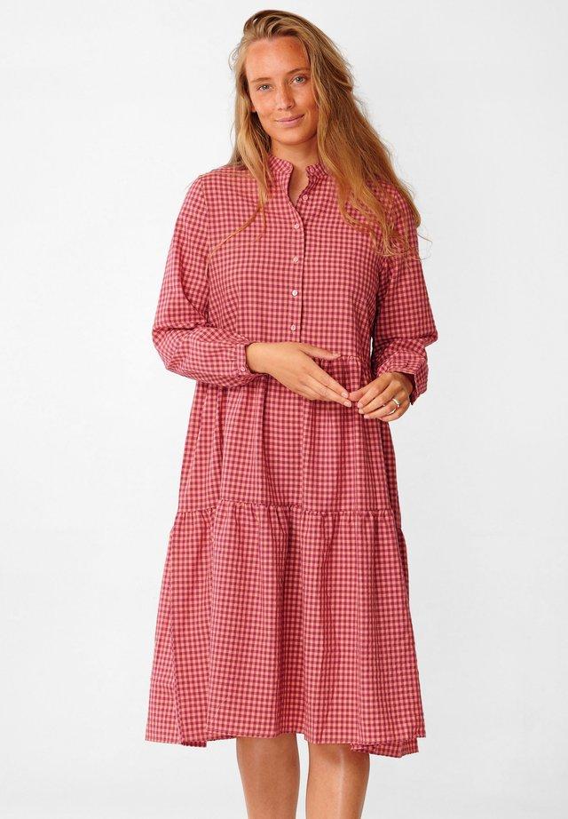 LIPE - Shirt dress - pink checks