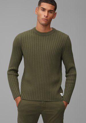 Pullover - utility olive