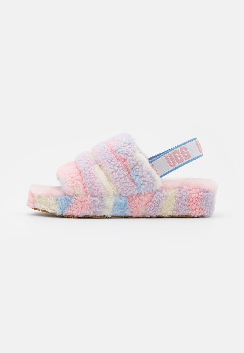 UGG - FLUFF YEAH SLIDE CALI COLLAGE - Pantoffels - light pink