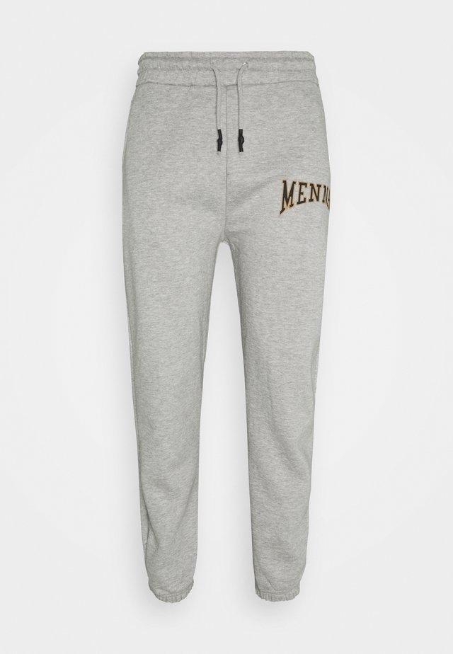 COLLEGIATE REGULAR UNISEX - Teplákové kalhoty - grey