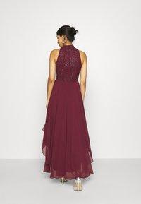 Lace & Beads - AVERY DRESS - Vestido de fiesta - burgundy - 2