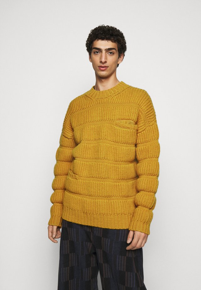CHUNKY TUBES  - Pullover - yellow