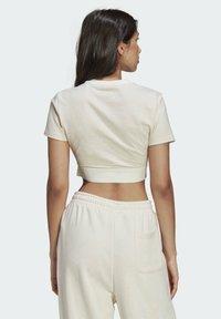 adidas Originals - R.Y.V. CROP TOP - T-shirt basic - white - 1
