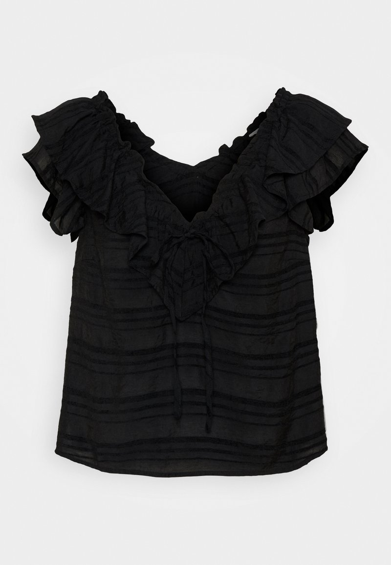 Object Petite - OBJRAFIA - Blouse - black