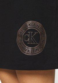 Calvin Klein Underwear - ICONIC LOUNGE NIGHTSHIRT - Nightie - black - 5