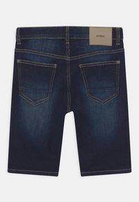 Lindex - TOM NARROW - Denim shorts - dark denim - 1