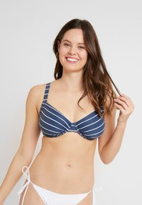 Esprit - NELLY BEACH UNDERWIRE - Bikini top - dark blue - 0