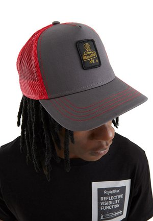 RAPPER CANVAS - Cappellino - grigio scuro/rosso
