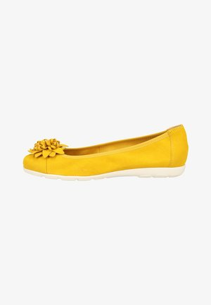 Ballerines - yellow