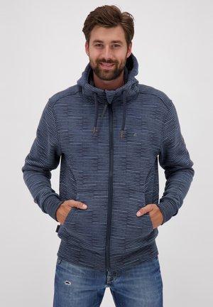 TRASHER - Zip-up hoodie - dark blue