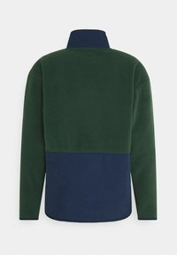 Levi's® - QUARTER ZIP POLAR UNISEX - Zip-up hoodie - dark green/dark blue - 1