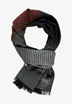 Scarf - burnt red