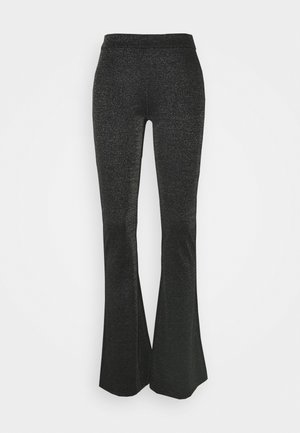 Trousers - black/silver