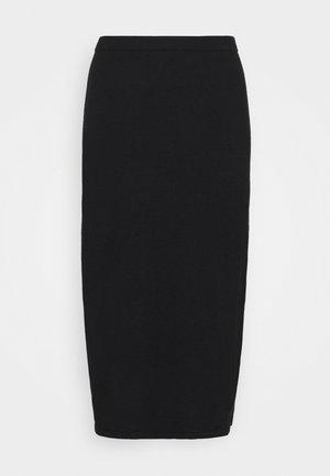 HONOR SKIRT - Áčková sukně - black