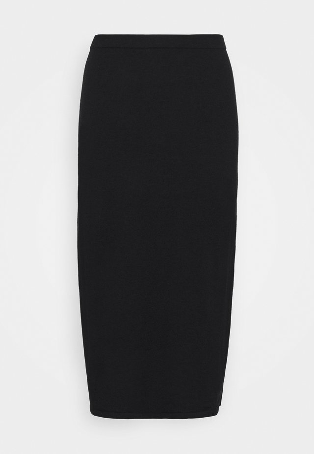 HONOR SKIRT - Áčková sukně - black