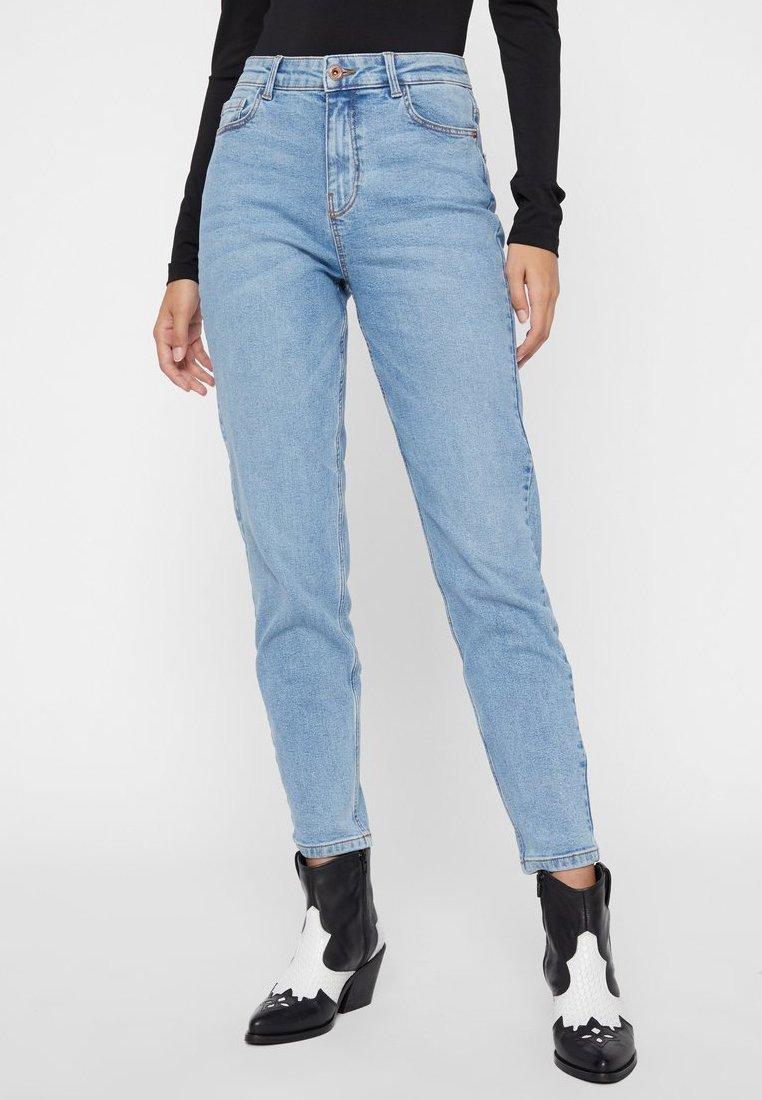 Pieces - Jeans slim fit - light blue denim