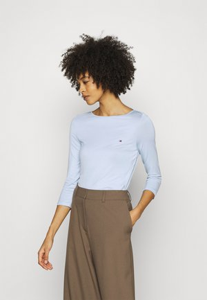 BOAT NECK TEE 3/4 - Topper langermet - breezy blue