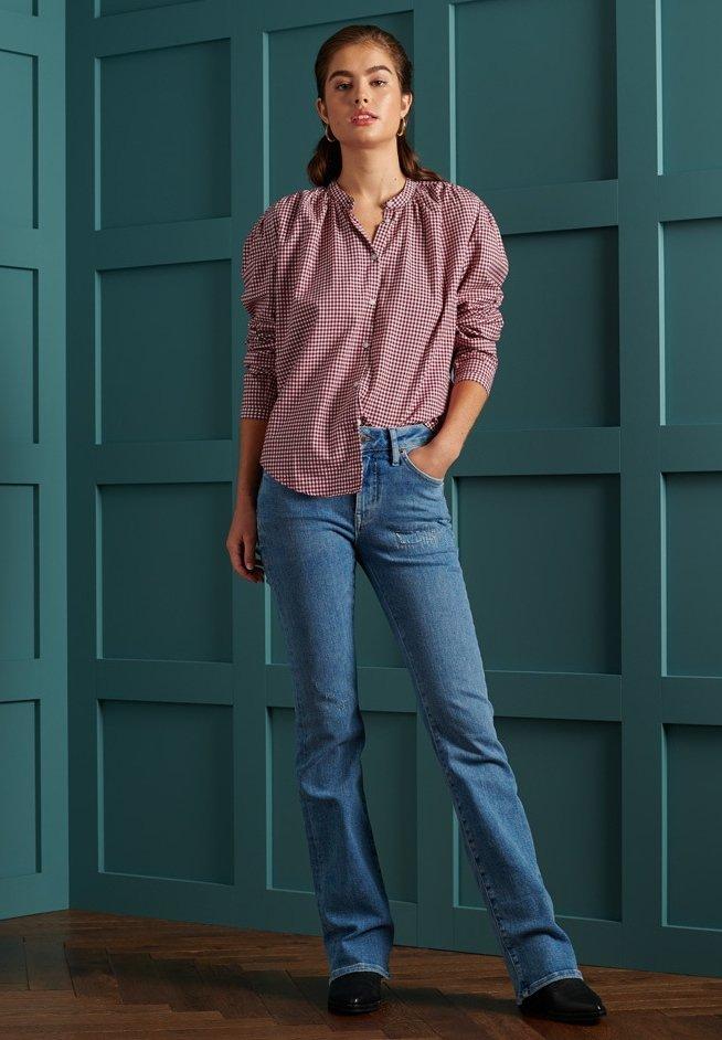 Women PREPPY OXFORD - Button-down blouse