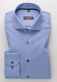 Eterna - LANGARM MODERN FIT - Shirt - blau - 5