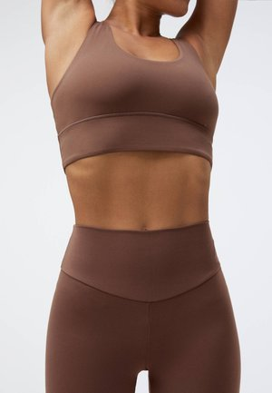 Sports bra - brown