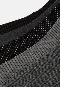 Pier One - 5 PACK - Socks - black - 1