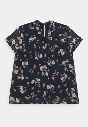 VMZALLIE  - T-shirt con stampa - navy blazer/zallie