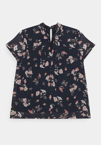 VMZALLIE  - Print T-shirt - navy blazer/zallie