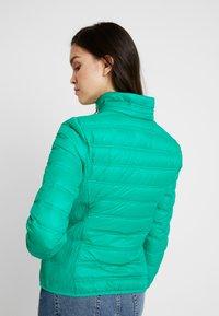 Benetton - HOODED JACKET - Down jacket - bright green - 3