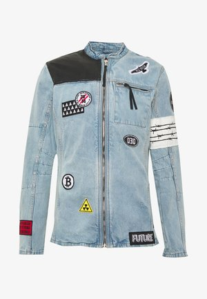 BEARTHUR - Denim jacket - ind penny destroyed