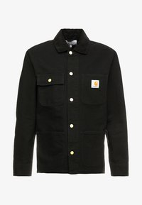 Carhartt WIP - MICHIGAN COAT DEARBORN - Kurtka wiosenna - black rinsed - 6