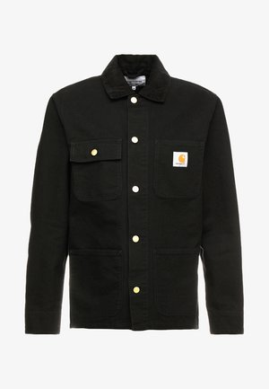MICHIGAN COAT DEARBORN - Summer jacket - black rinsed