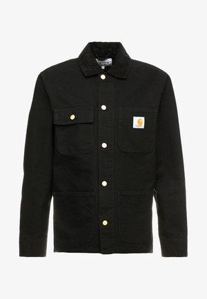 MICHIGAN COAT DEARBORN - Lehká bunda - black rinsed