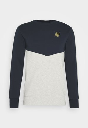CUT AND SEW CREW - Sweater - navy/snow marl