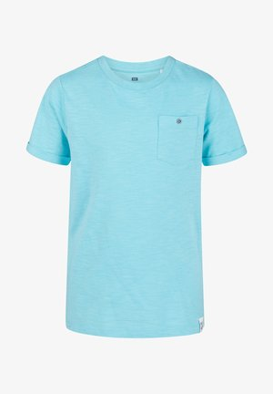 WE FASHION JONGENS T-SHIRT - Basic T-shirt - light blue