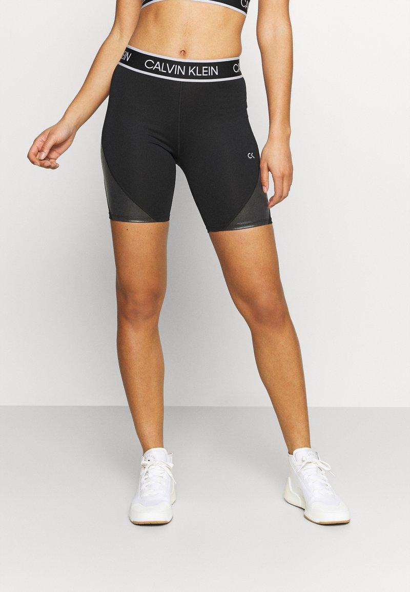 Calvin Klein Performance - CYCLIST LENGTH - Leggings - black
