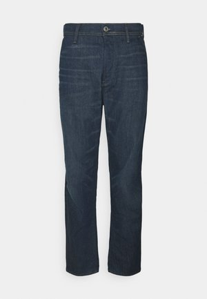 GRIP 3D RELAXED TAPERED - Relaxed fit jeans - panzer stretch denim o - worn in leaden