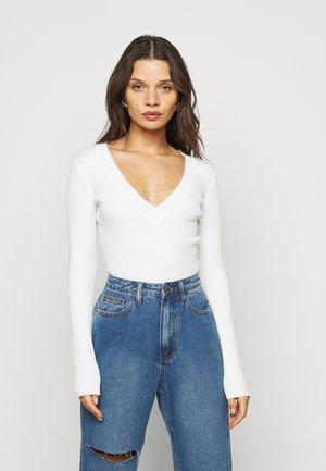 VNECK  - Pullover - offwhite