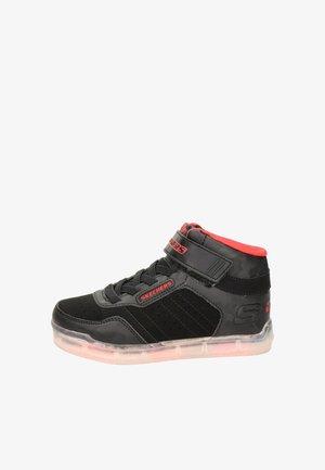 ICE LIGHTS JONGENS - Sneakers hoog - zwart
