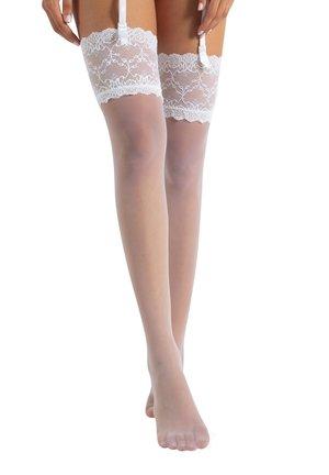 BRIDAL  - Over-the-knee socks - white