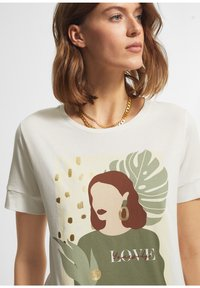 comma casual identity - Print T-shirt - offwhite - 4