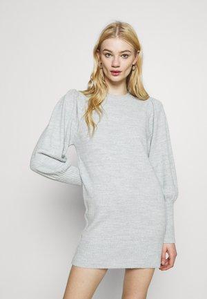 JUMPER DRESS - Jumper dress - grey