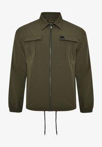 Ed Hardy - URBAN-TIGER NYLON POLY STRETCH SHACKET - Summer jacket - khaki - 4