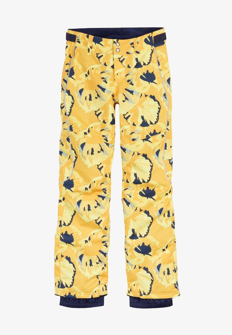 O'Neill - Snow pants - yellow aop w/ brown