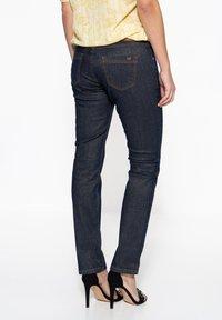 Amor, Trust & Truth - IN GLITZEROPTIK BEL - Slim fit jeans - dunkelblau - 1
