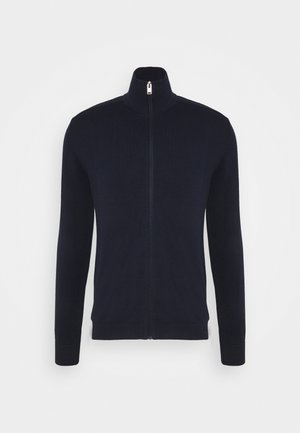 SLHBERG FULL ZIP  - Cardigan - navy blazer
