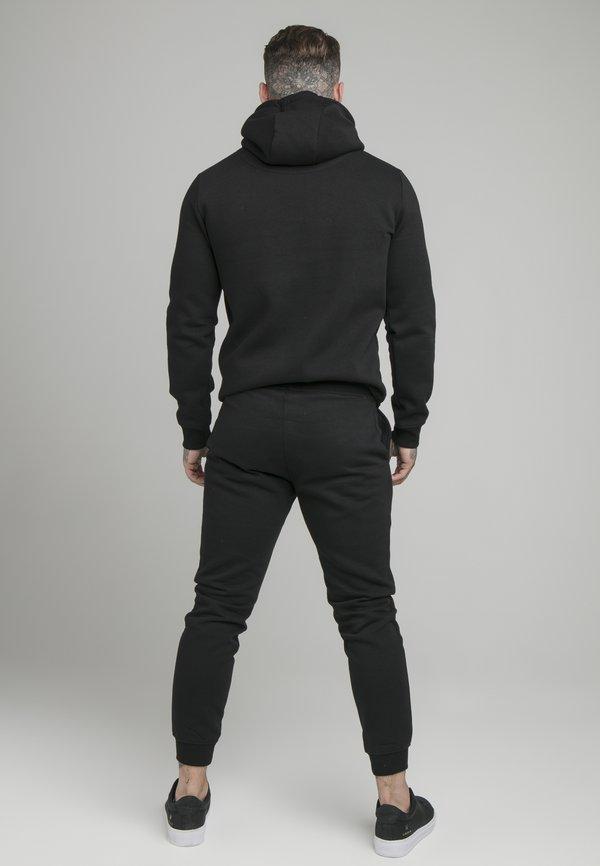 SIKSILK MUSCLE FIT OVERHEAD HOODY - Bluza - black/czarny Odzież Męska EQVT
