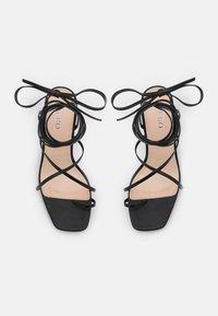 BEBO - CLAUDIA - T-bar sandals - black - 5