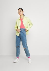 Tommy Jeans - TJW SOFT TEE - T-shirt imprimé - botanical pink - 1
