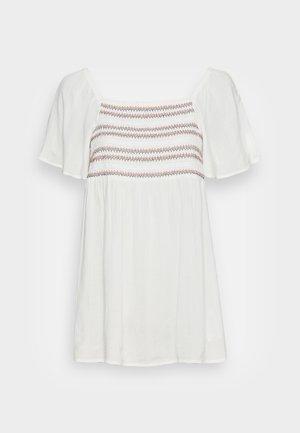 SMOCK BLOUSE - Blouse - off white