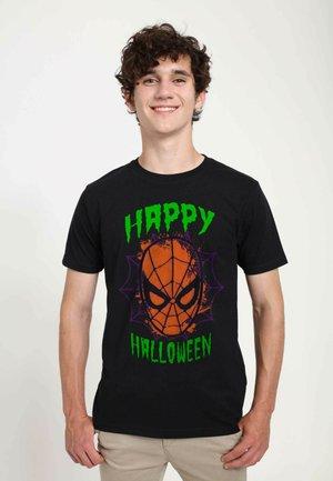 MARVEL  SPIDERFACE HALLOWEEN UNISEX - T-shirts print - black